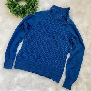 North Face Blue Sweater